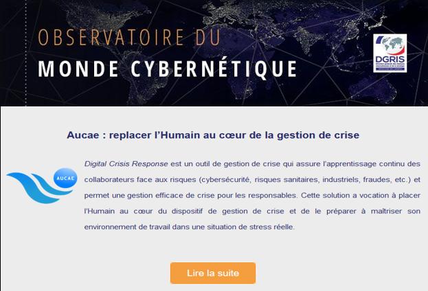AUCAE Observatoire du monde cybernétique